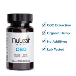 NuLeaf full spectrum CBD capsules